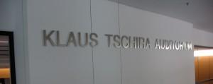 Um Keller befindet sich das Klaus Tschira Auditorium