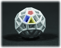 Ball Farbig Randverlauf 240