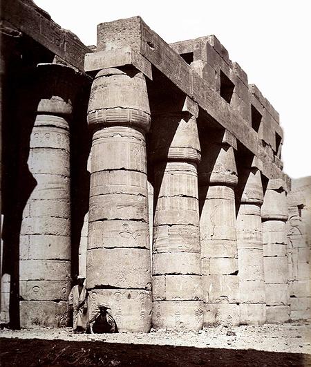 Beato, Felice (1834-1907) - Tempio egizio
