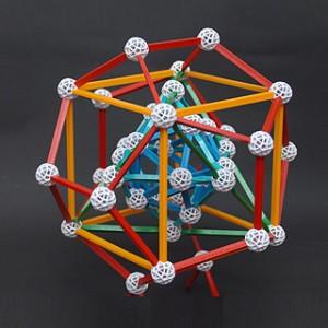 Zometool Keplers Kosmos fertiges Modell